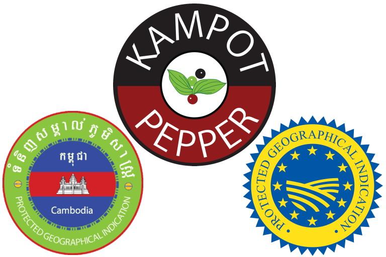 Logos Poivre de Kampot